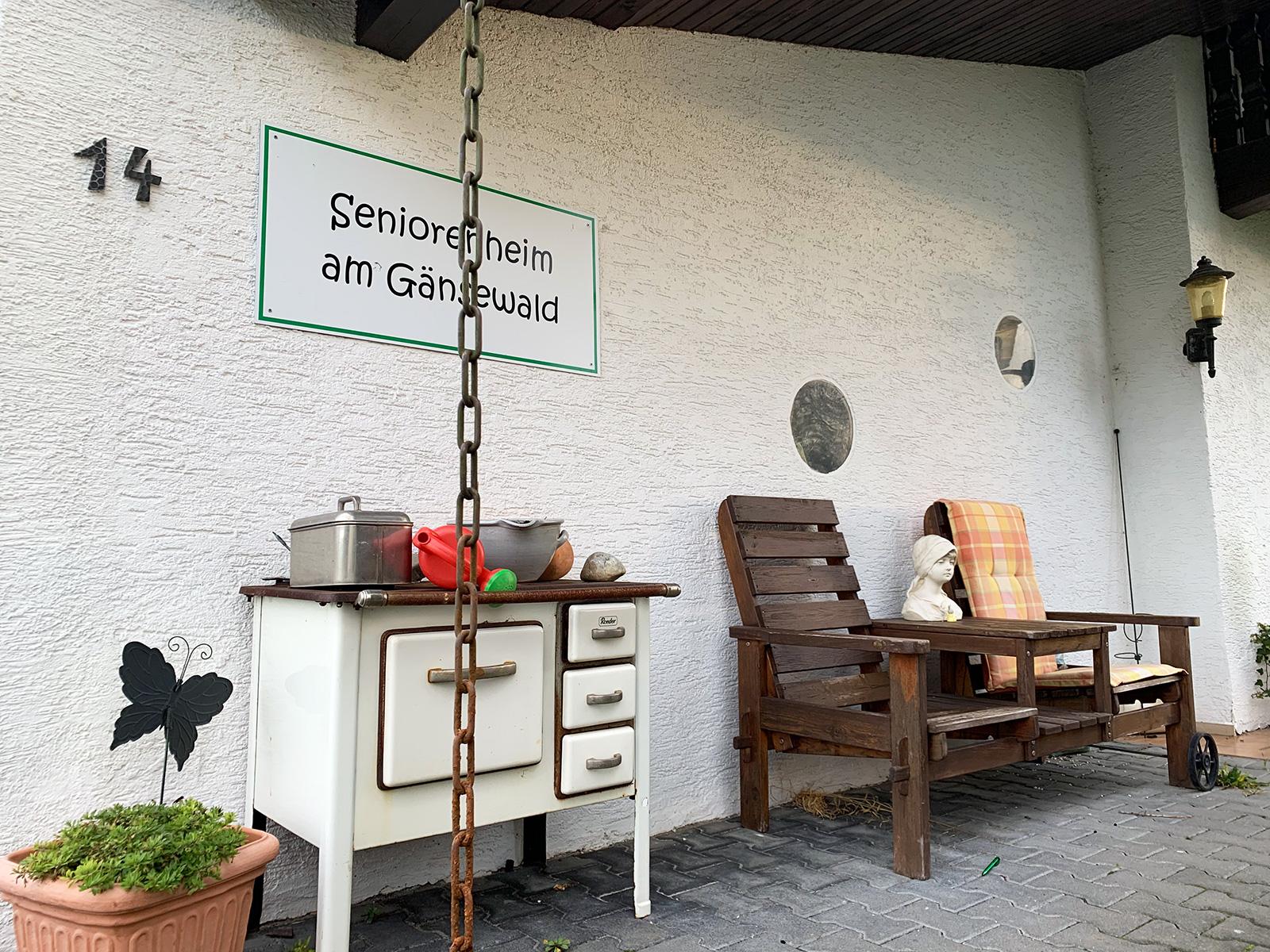 Eingang | Seniorenheim am Gänsewald